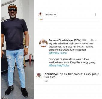 Sen. Dino Melaye refuted, denies promising to give Tasha money worth N30 M. (Detail)