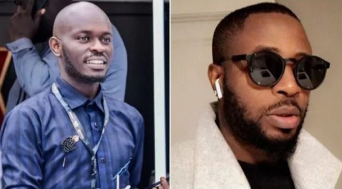 BBNaija: Comedian Mr. Jollof threatens Tunde Ednut, Says he would beat him. (See reasons).