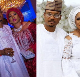 Recent: Shina peller happily celebrates 14 years of marriage with wife. (Pix)