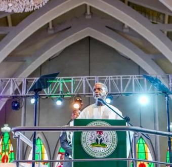 9ja 59′ Yemi Osinbajo (VP) entertains independence guest plus stories of Nigerian swags. (Details)