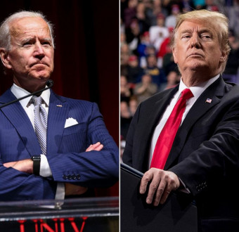 Trump will not destroy me, I am going nowhere! Biden said.
