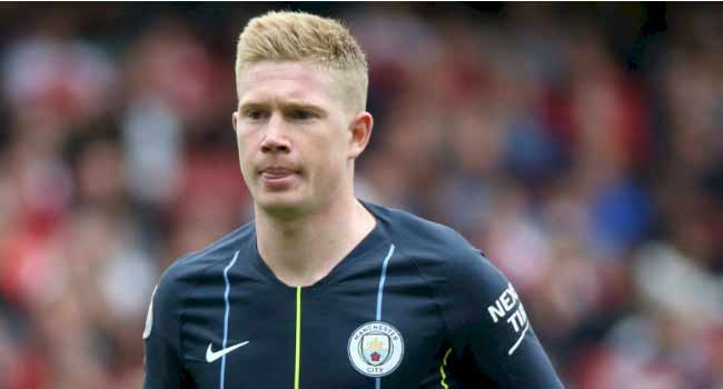 Manchester city, Belgium star De bruyne out of euro 2020 fixtures (See reasons)
