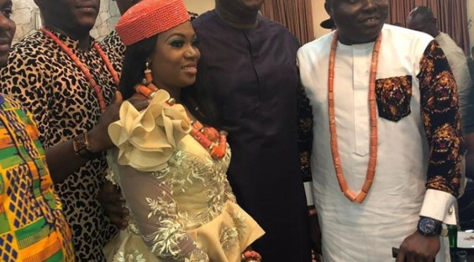 (Video) Festus Keyamo's younger sister marries Harrysong's manager..