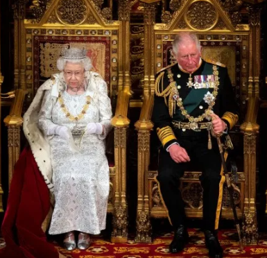 Prince Charles preparing to become the prince regent as it is time for 95 year old queen Elizabeth to retire..