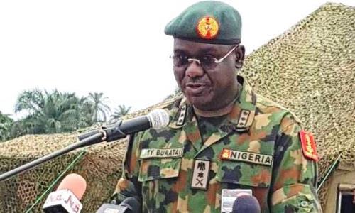 Buratai visit Armies in Tarkwa Bay, Lagos, Says Excercise Crocodile Smile IV…