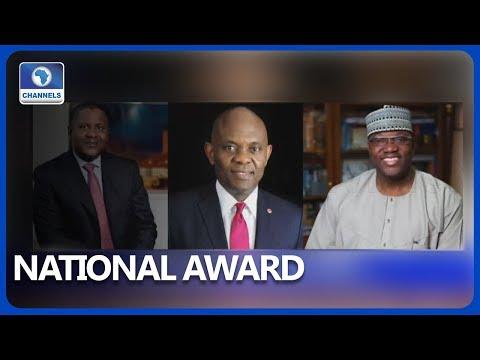Dangote, Elumelu and Momoh Gets Honorary Awards..