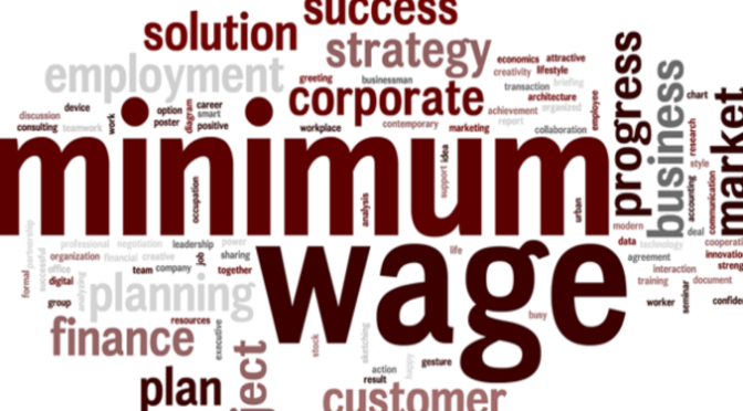 Minimum Wage: It is going to be a bumper salary in December and we are happy about that.