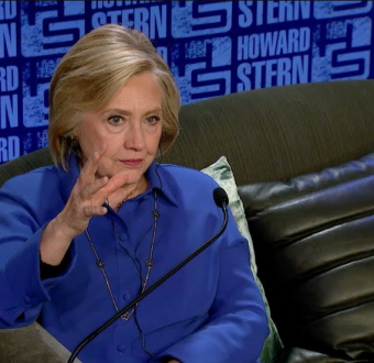 Hilary Clinton says 'NAY' as she was asked if she's ever had an affair with same female gender.