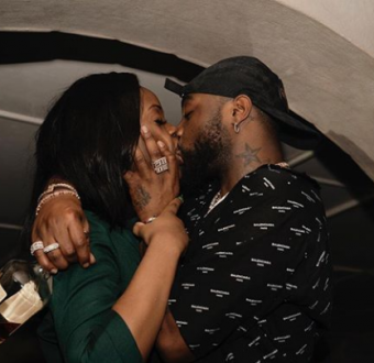 Why is the kiss so unromantic between hungry Davido and Chioma.