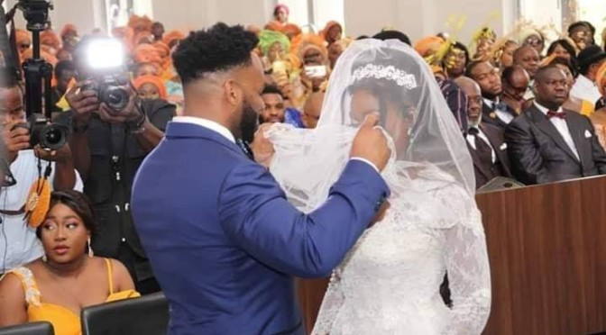 Wedding photos of uche secondus daughter.