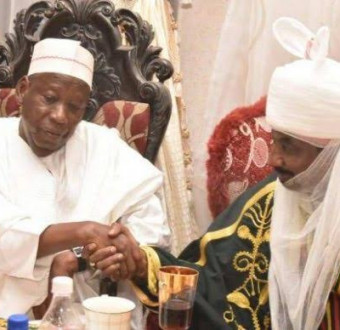 Kano: Hours after announcement, Emir sanusi accept his appointment.