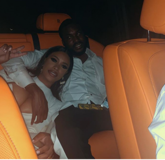 Meek Mill's girlfriend and fashion entrepreneur says she is pregnant.