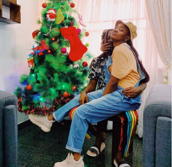 Merry Christmas from Simi and Adekunle Gold