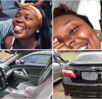 Lady who saved for 2 years to buy her boyfriend Toyota Camry on boxing day trends.
