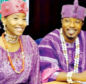 Oluwo of iwo and estranged wife exchanged insults on social media.