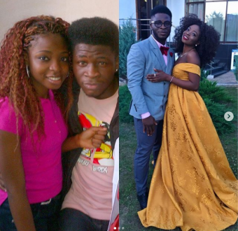 Comedian, Craze clown shares loved up photo with JoJo, said it's been an 8 years journey.