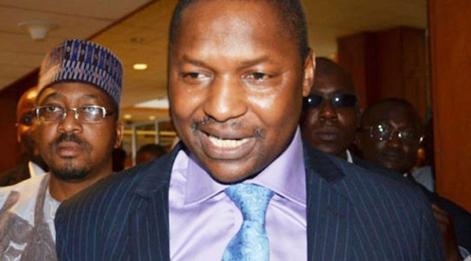 (SAN) Malami AGF said he will comply with court orders over ex governor's pension refund