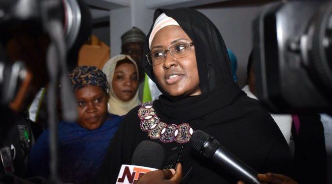 Update – Nigerians react as Aisha Buhari shades Mamman Daura, Garba Shehu.