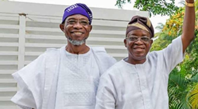 I have no grudges with Oyetola – Rauf Aregbesola.