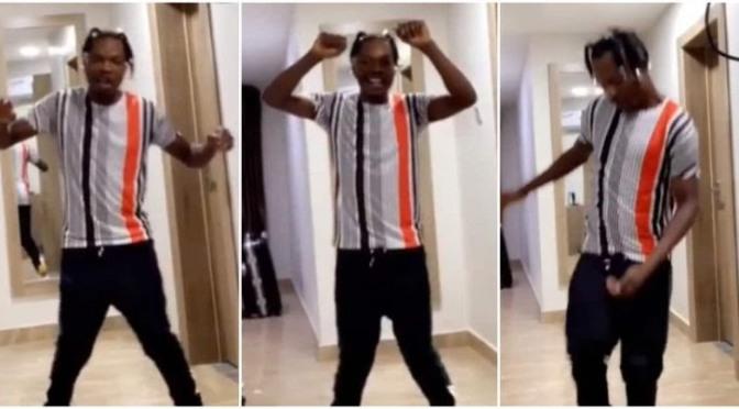 Nigerians reacts to Naira Marley's 'Tesumole' Dance Step
