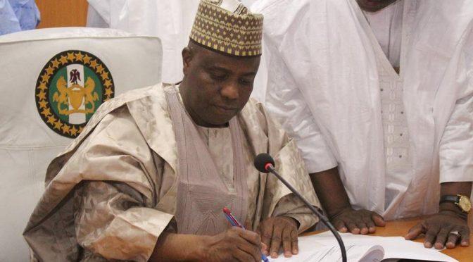 Waziri Tambuwal 'Thumbs Up' to N202bn 2020 Sokoto Budget.