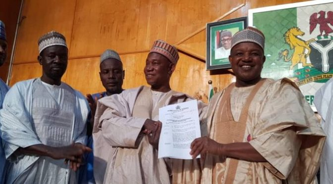Kebbi: Abubakar Atiku Bagudu Agrees to N138Billion Appropriation Bill