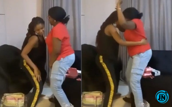 Singer, Simi teaches mom to dance and whine her waist. (Watch video)