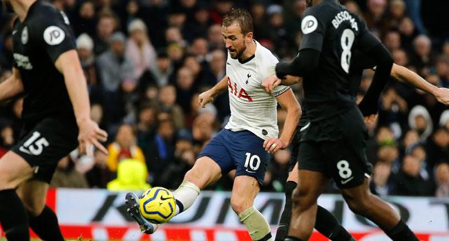 2-1: Tottenham revenge Chelsea's win as they home trash Brighton.