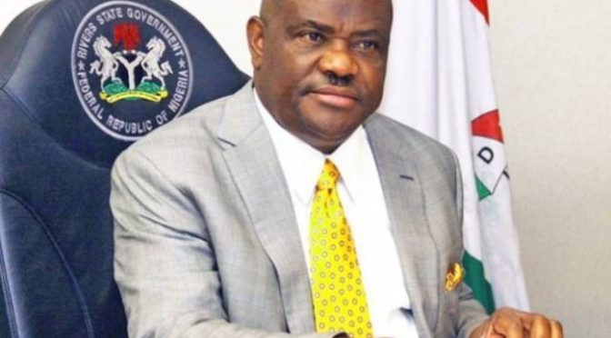 Nyesom wike swears in 13 commissioners, 15 SAs.