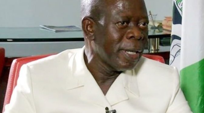 Oshiomhole warned by Kinsmen over denigrating Philip shaibu.