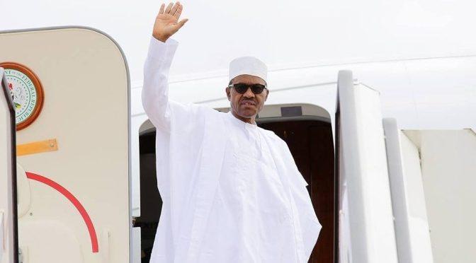 President Buhari Leaves Daura After 5-Days Official Visit.