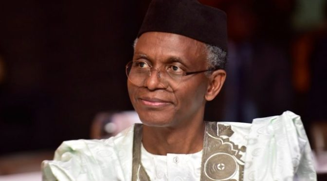 El-Rufai advise Christians to embrace the good in Xmas.